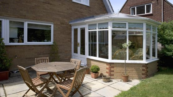 A classic styled conservatory installed by our team