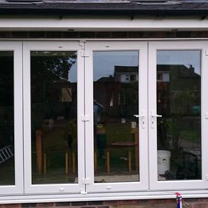 Patio doors installed by our team