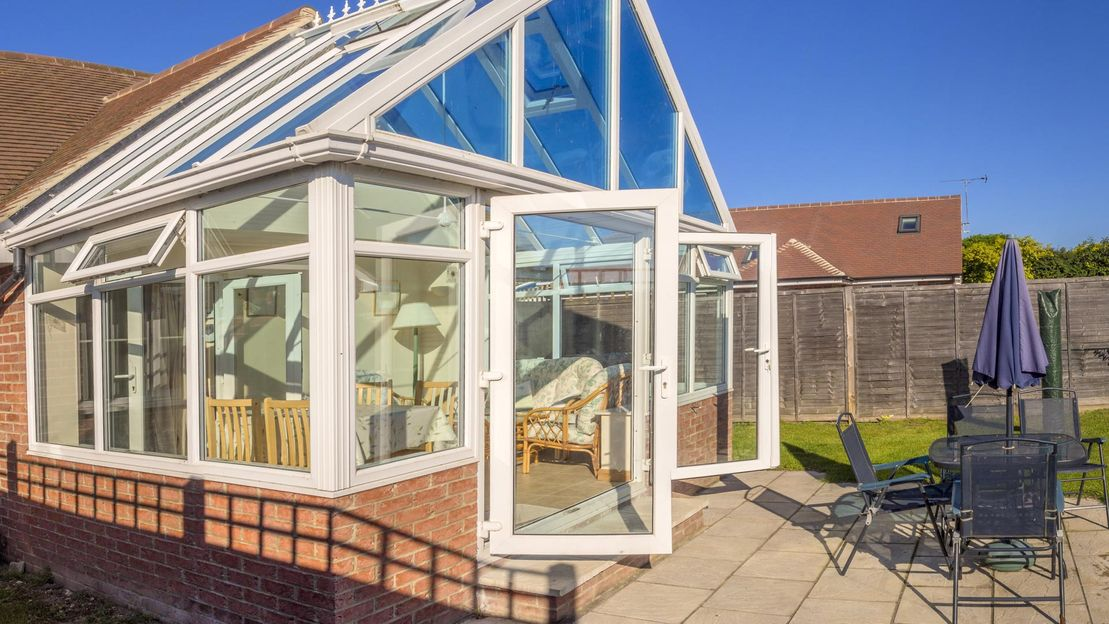 A new conservatory installed by our team