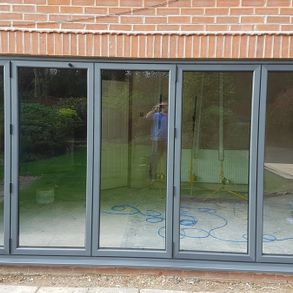 Bi-folding doors installed by our team